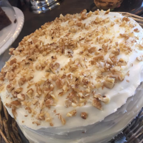 Large Slice of Carrot Cake