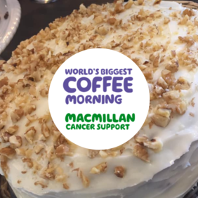 Have Your Cake & Eat It for Macmillan Coffee Morning